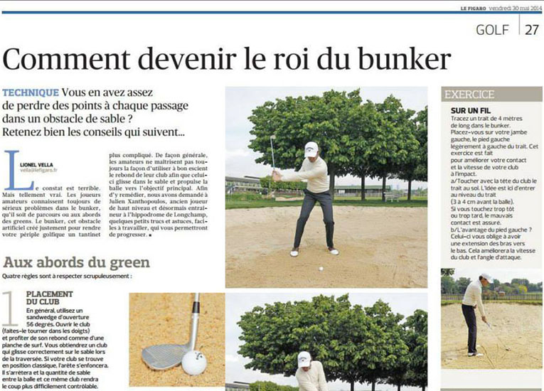 Consulting PlayingGolf - Presse écrite